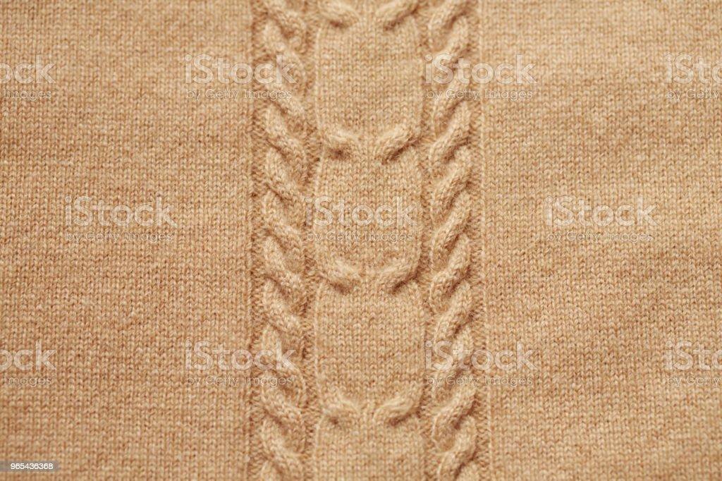 Brun tricoté en laine fond - Photo de Affectueux libre de droits