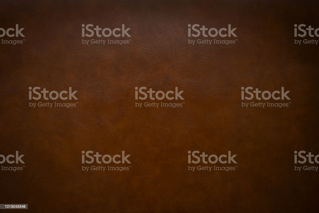 Brown leather as a background stock photo