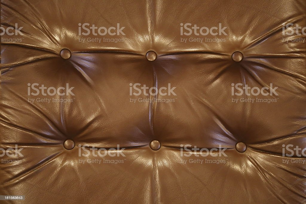 Brown leather close-up background royalty-free stock photo