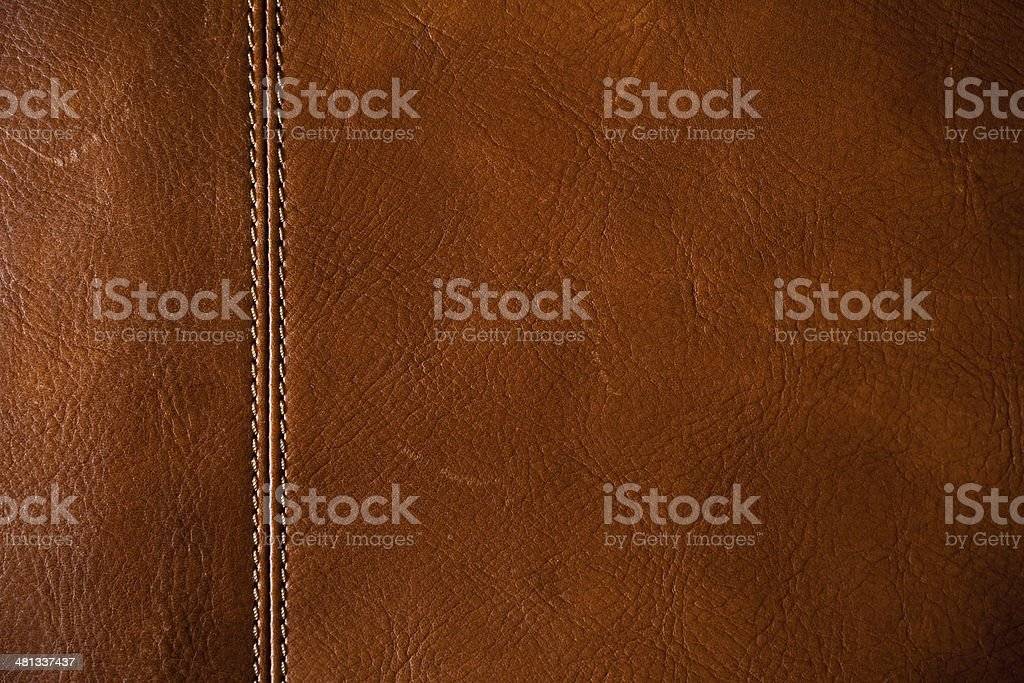 Brown leather royalty-free stock photo
