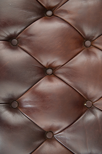 Brown Leather Sofa Texture Background Stock Photo Download Image Now