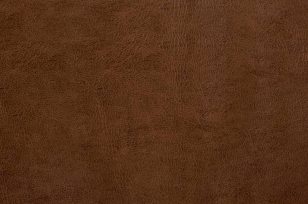 brown leather texture as background - 咖啡色 個照片及圖片檔