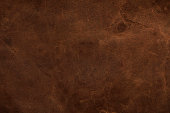 istock Brown leather texture background, genuine leather 1203918823