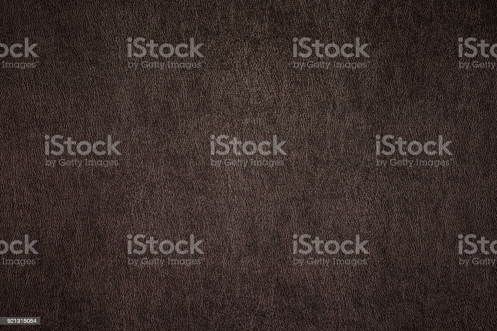 Brown leather texture background stock photo
