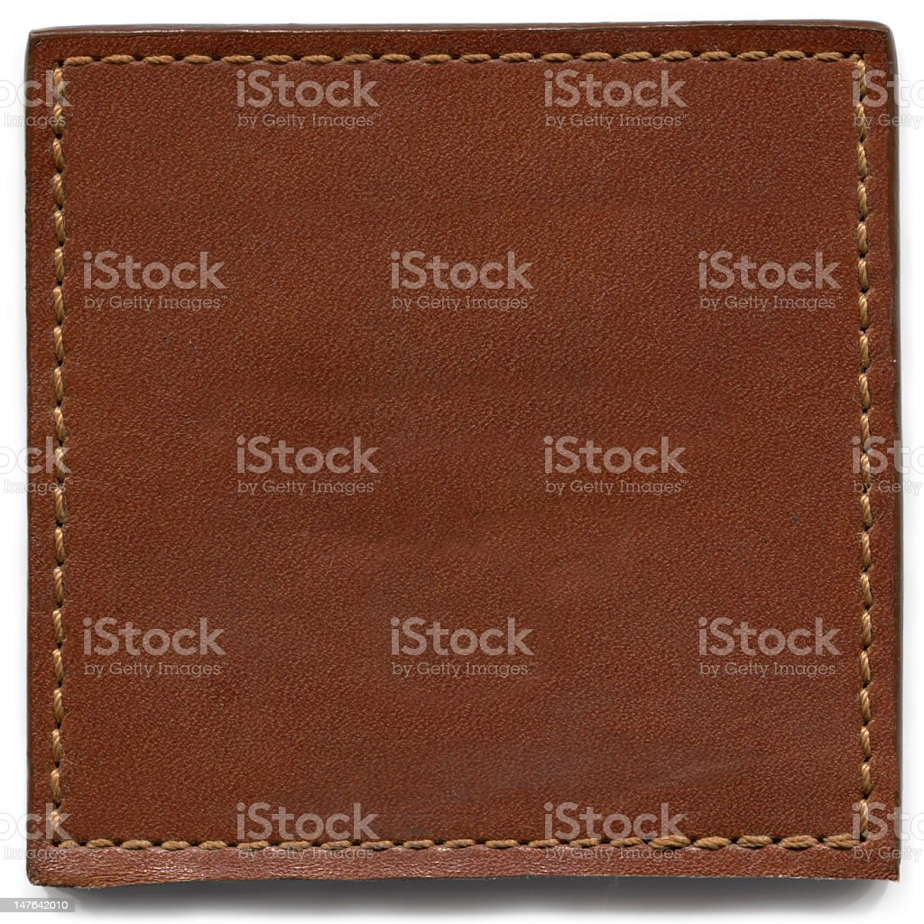 Brown Leather Texture royalty-free stock photo