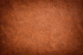 Brown Leather Texture used as luxury classic Background