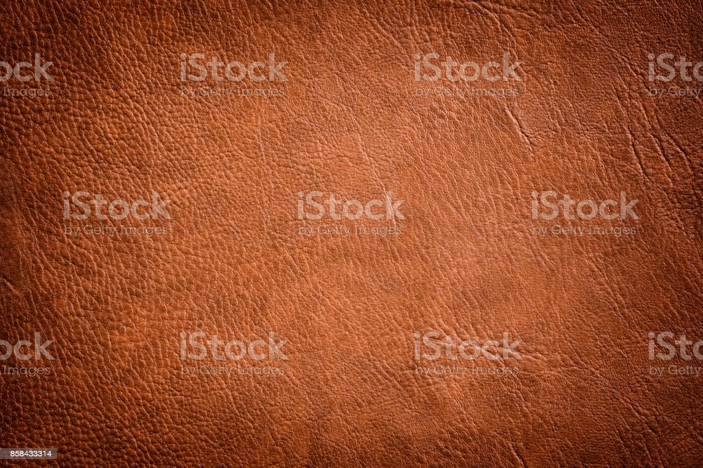 Brown Leather Texture used as luxury classic Background stock photo