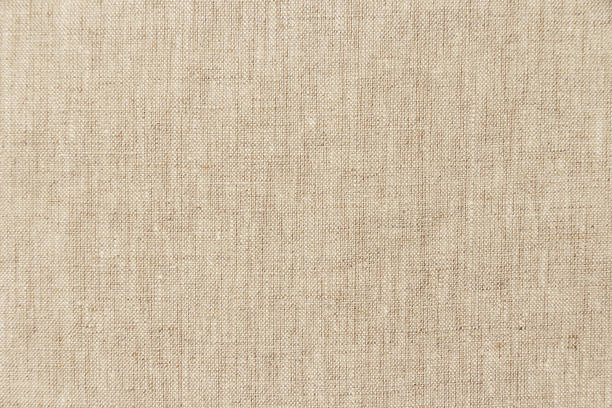 brown light linen texture or background for your design - textile stock photos and pictures