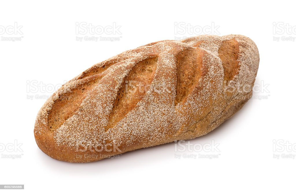 brown long loaf stock photo
