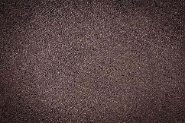 brown luxury leather texture closeup can be used as background - wie alt werden kühe stock-fotos und bilder