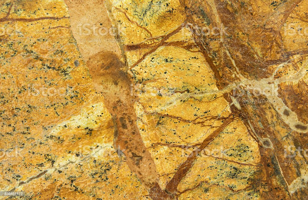 Brown Marbled Stone stock photo