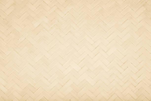 brun matta traditionella hantverk bambu väva textur bakgrund. wicker ytmönster material för vägg med antika sprickbildning möbler målade väderbitna vit vintage peeling tapet eller styrelsen. - halmslöjd bildbanksfoton och bilder