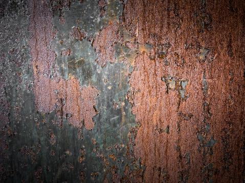 Brown metal background