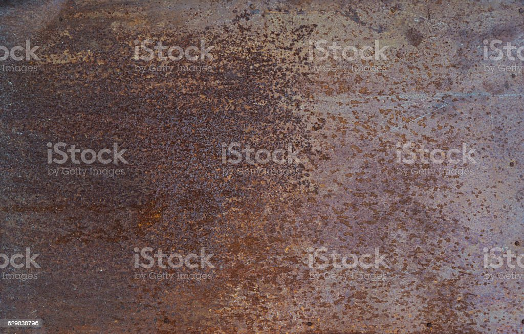 Brown metal background stock photo