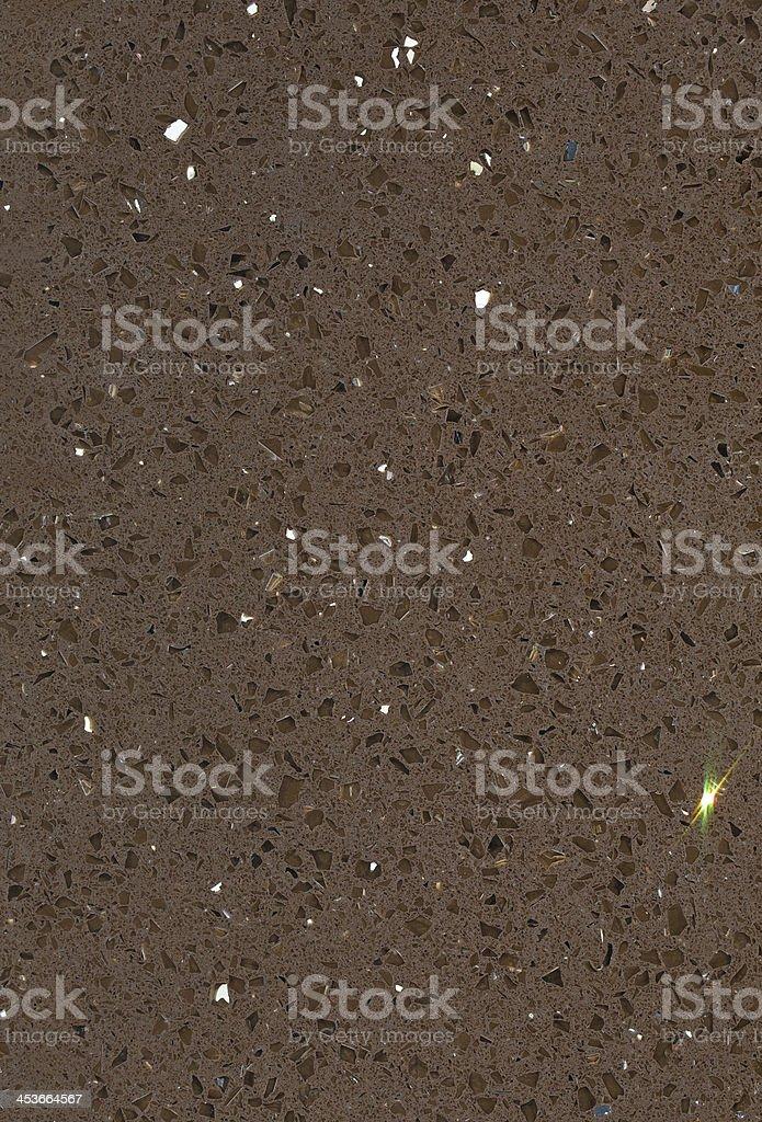 Brown Mirror Quartz Composite royalty-free stock photo