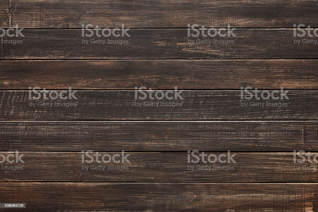 Brown natural painted wood texture and background. stock photo