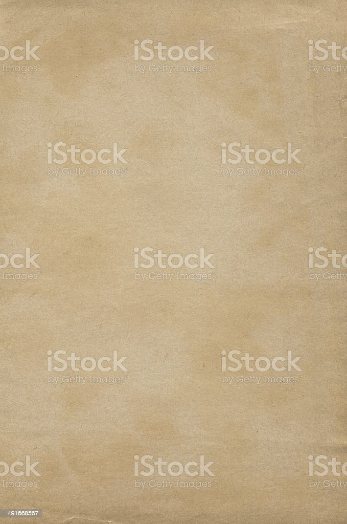 Brown old paper texture stock photo