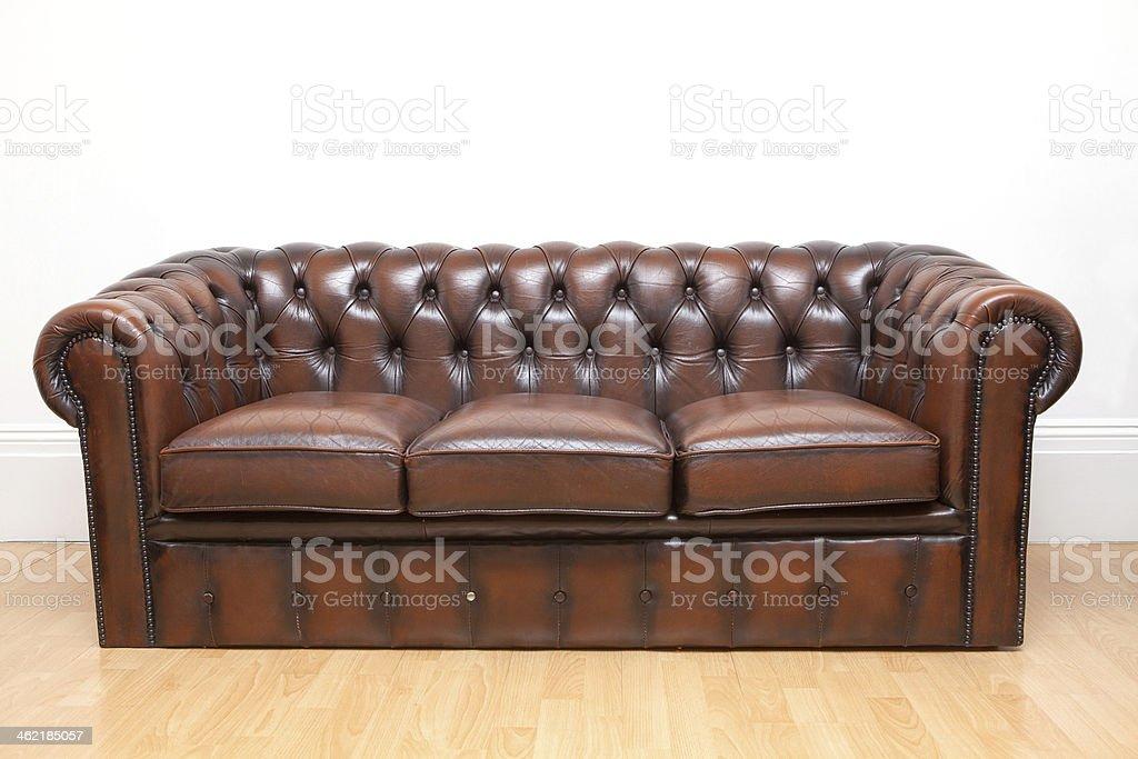 Divano Arancione E Marrone : Marrone vintage vecchio divano in vera pelle texture sfondo