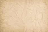 istock Brown or Cream recycled craft paper texture background. Pattern 1218880477