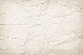 istock Brown or Cream recycled craft paper texture background. Pattern 1223116637