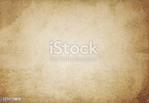 Brown paper background - Vintage texture