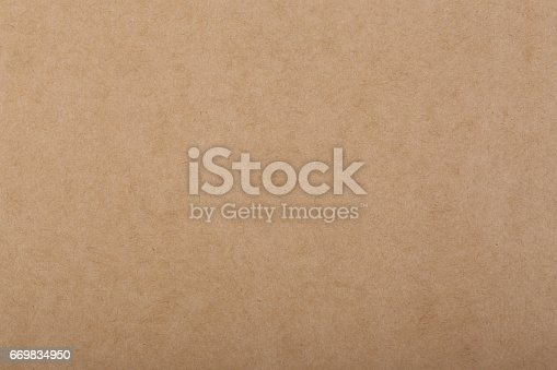 istock Brown paper background 669834950