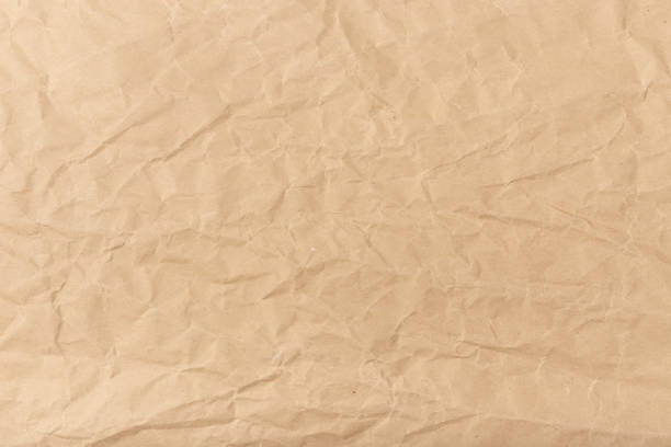 Brown paper background texture stock photo