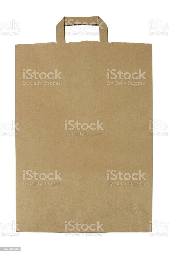 Brown Paper Bag stock photo