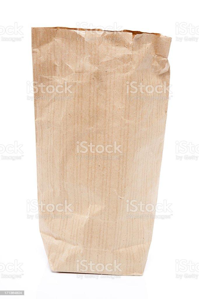 Brown paper bag XXXL royalty-free stock photo