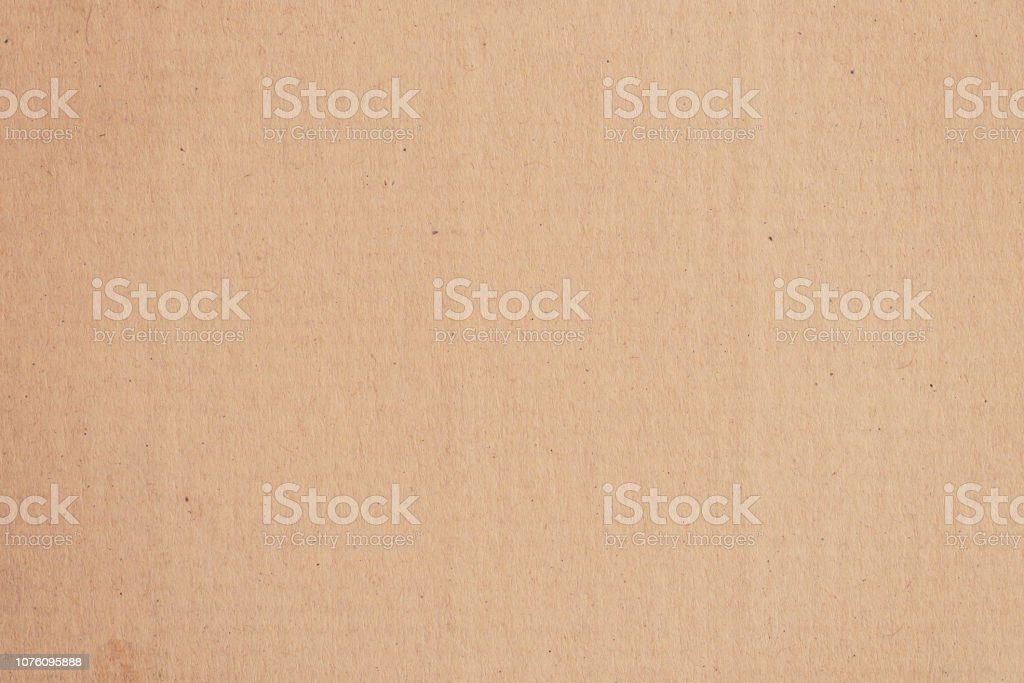 Brown paper box and Kraft paper texture and background with space. - Zbiór zdjęć royalty-free (Bez ludzi)