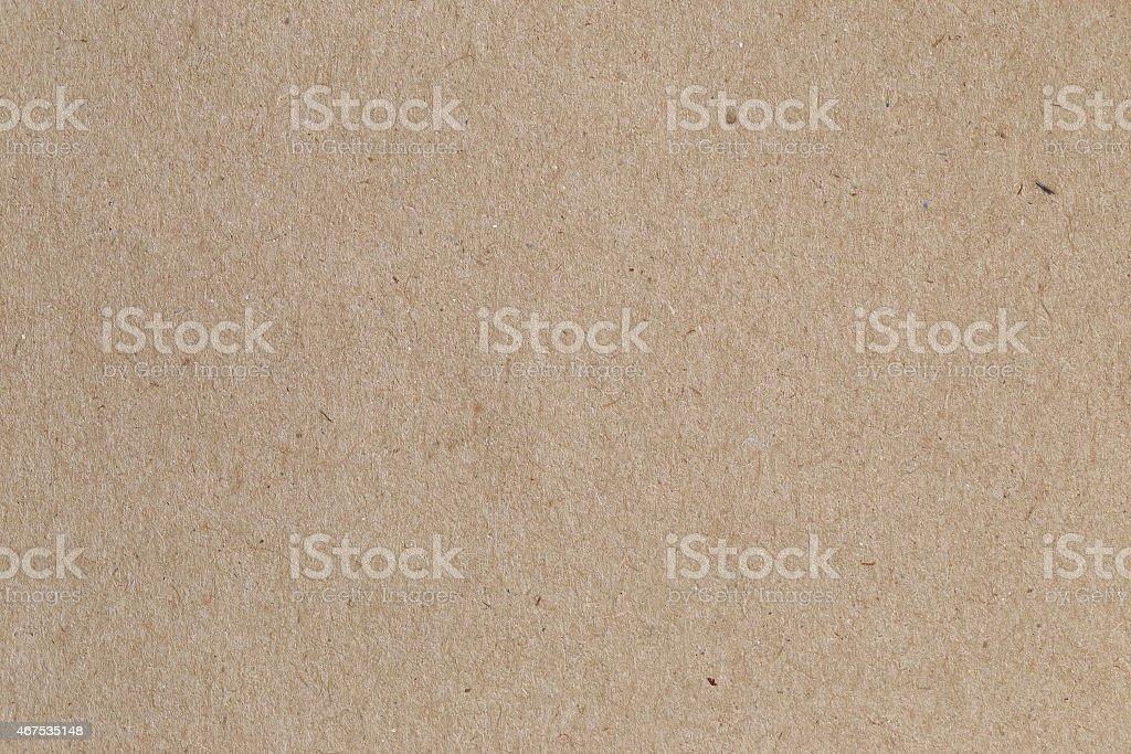 Brown paper, cardboard texture for background. stock photo