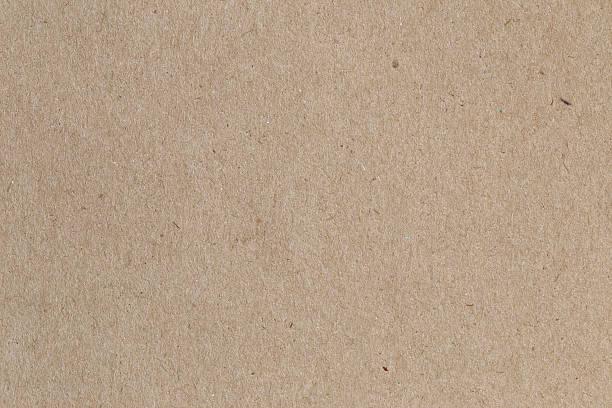 brown paper, cardboard texture for background. - kartonnen verpakking stockfoto's en -beelden