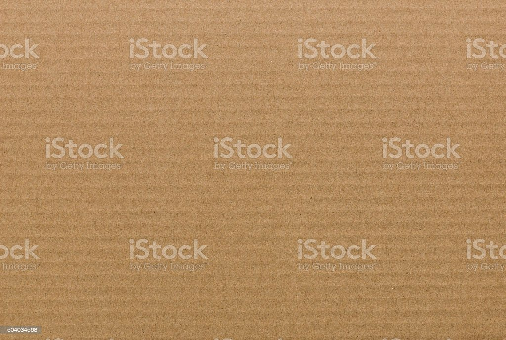 brown paper corrugated sheet board surface stock photo