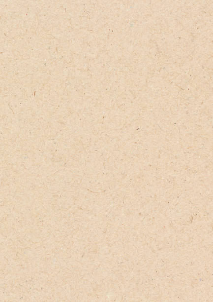 brown paper sheet. paper texture background - typescript stock pictures, royalty-free photos & images
