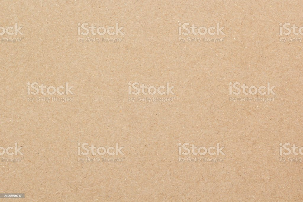 Brown paper texture cardboard background stock photo