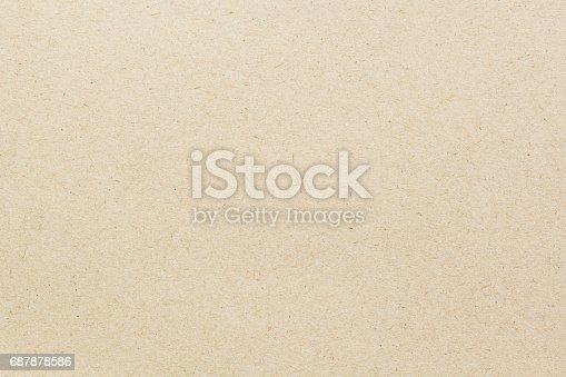 istock Brown paper texture 687878586
