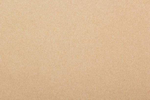 茶色の紙の質感  ストックフォト