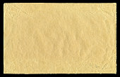 istock Brown Paper textured isolated on black background 184868807