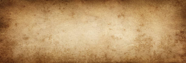 Brown paper. Vintage old paper background stock photo