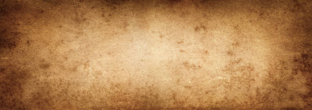 Brown paper. Vintage old paper background. Retro style. stock photo