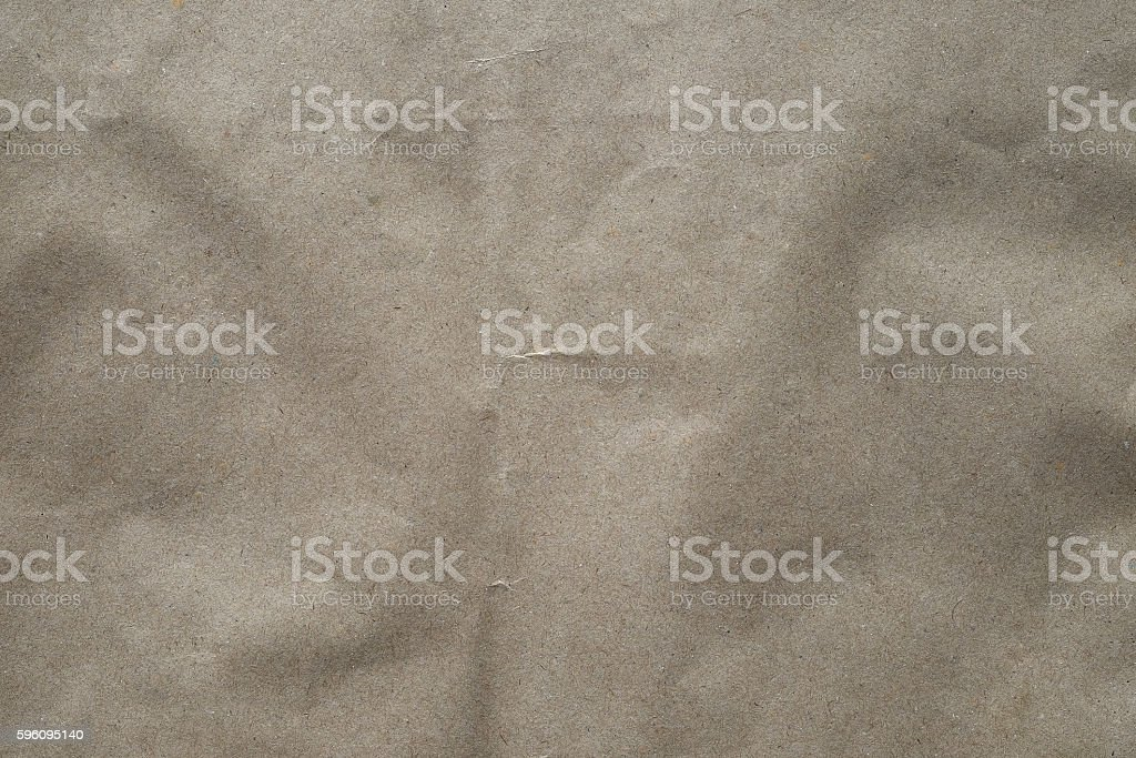 Brown paper with crease for background. Lizenzfreies stock-foto