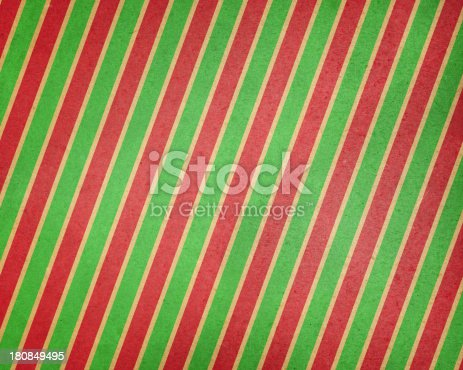 istock brown paper with holiday stripes 180849495