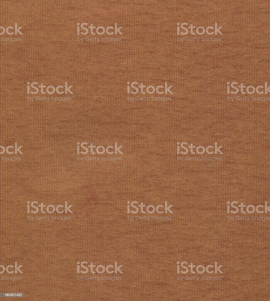 brown paper with red stripe royalty-free stock photo