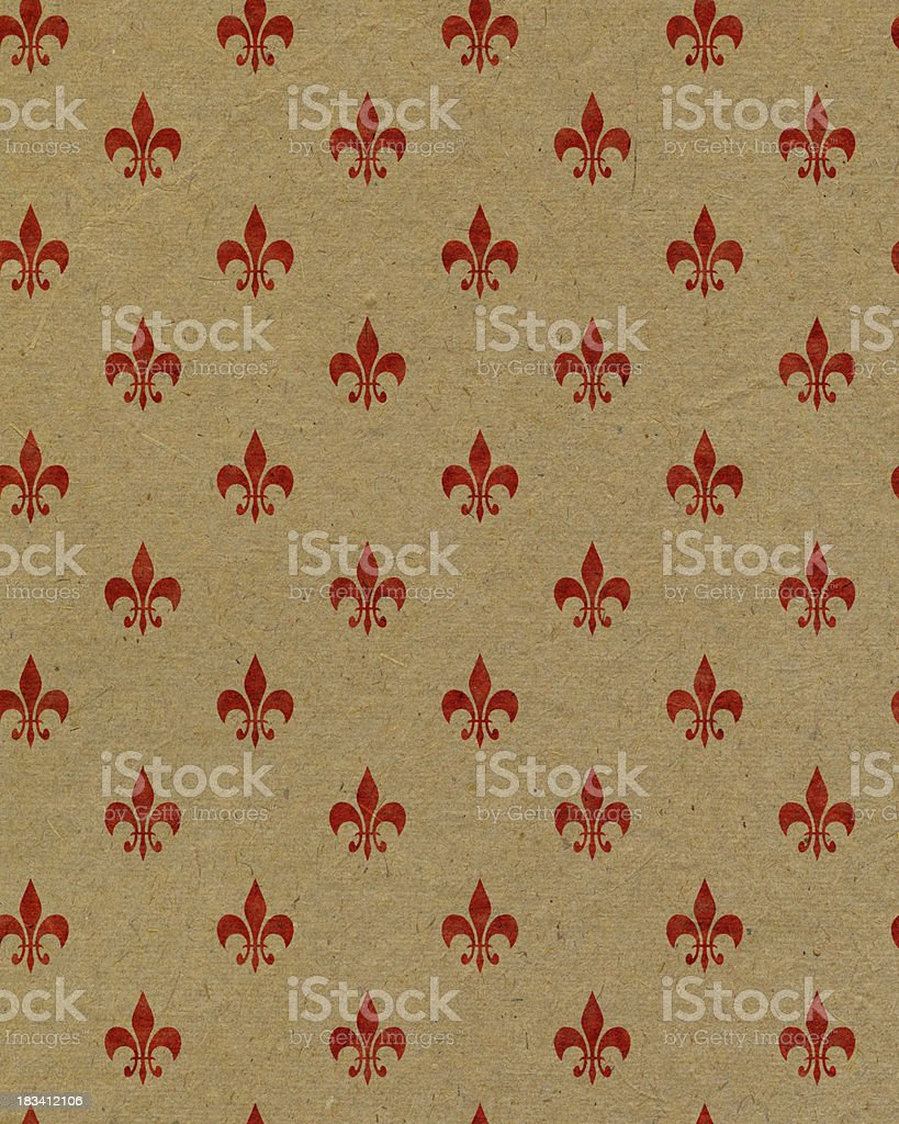 brown paper with symbol royalty-free stock photo