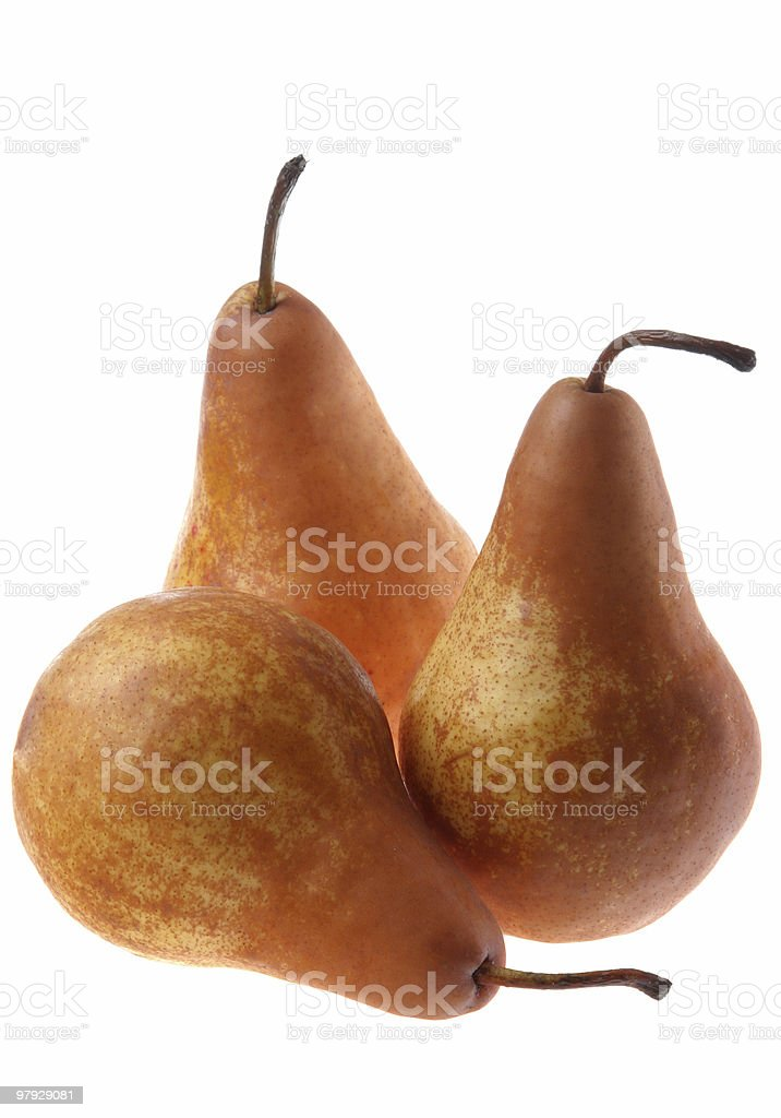 Brown pear royalty-free stock photo