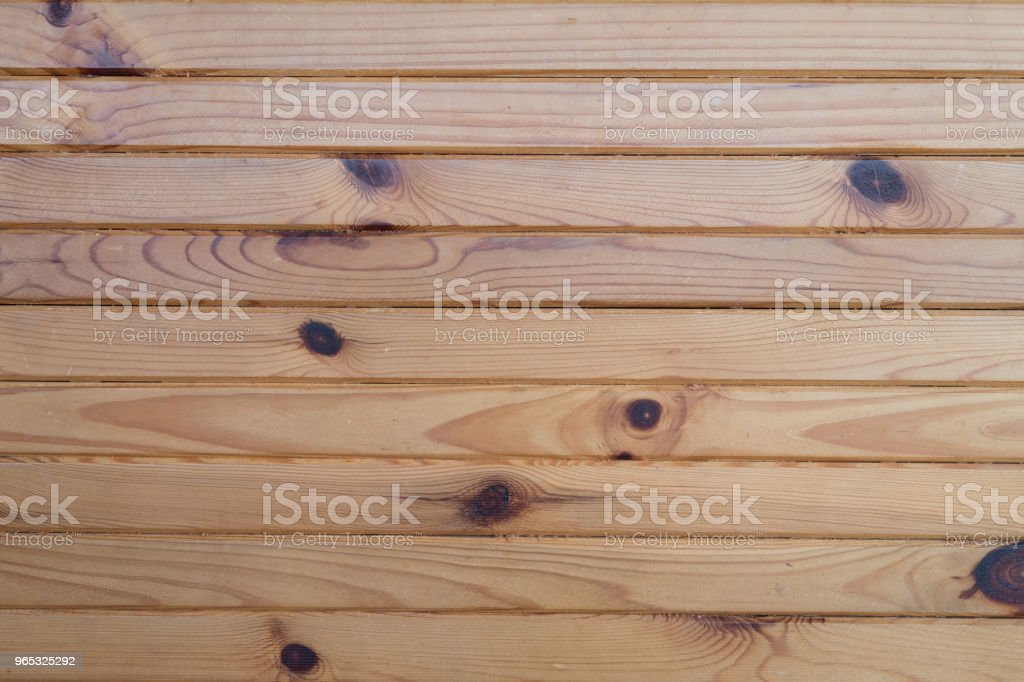 Brown pine wooden wall for background zbiór zdjęć royalty-free