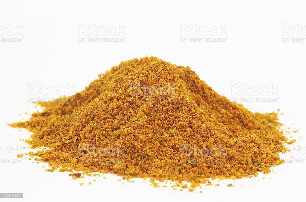 brown powder stock photo