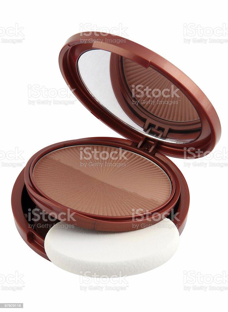 Brown powder royalty-free stock photo