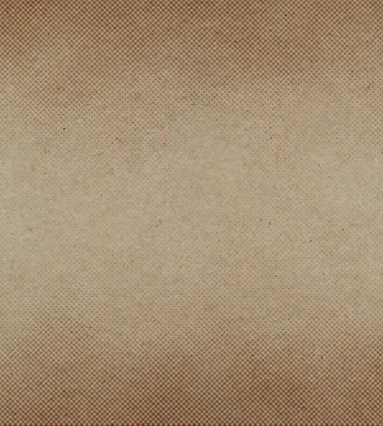 Papier recyclé avec demi-teinte brune - Photo