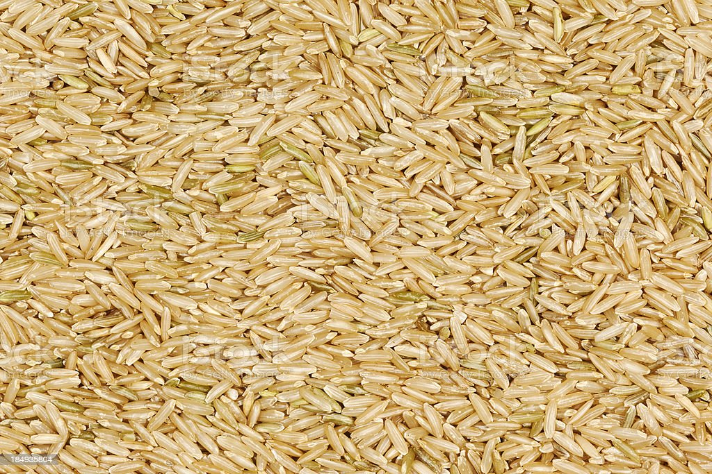 Brown Rice Background royalty-free stock photo